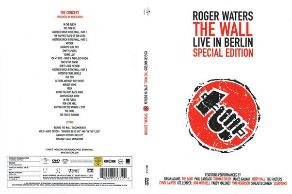 Roger Waters - The Wall Live in Berlin (1990) {2004, Special Edition, DVD}